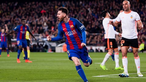 Lionel Messi - 50 points