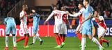 Monaco sets tone early, ousts Manchester City; Atletico Madrid coasts to UCL quarters