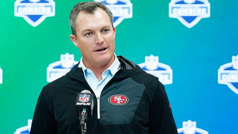John Lynch and the 49ers aren't wasting any time