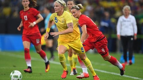 DF: Nilla Fischer, Sweden (VfL Wolfsburg)