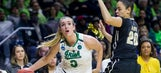 Women's NCAA tournament second round capsules: Notre Dame wins in OT