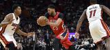 Pelicans' 2-game win streak snapped by Heat