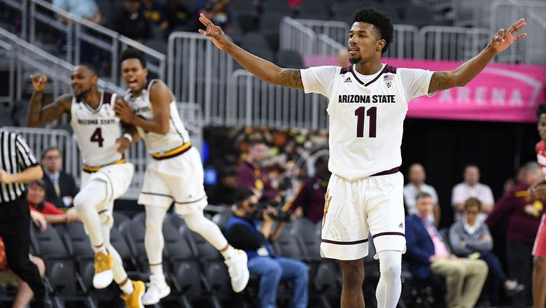 ASU edges Stanford in OT to stay alive in Pac-12 tourney