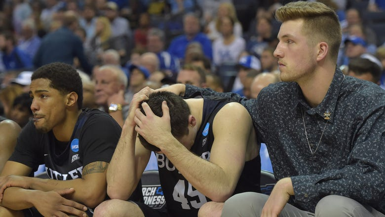 Butler's season ends with 92-80 loss to North Carolina