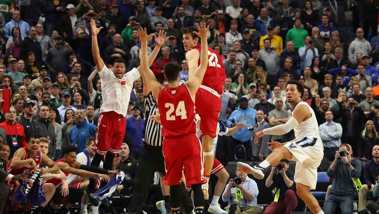 Badgers dispatch Villanova, advance to Sweet 16