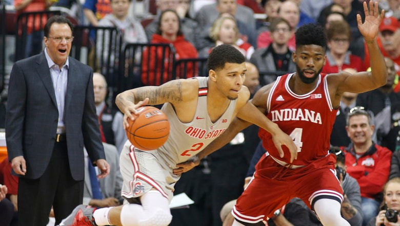 Indiana holds off Ohio State for 96-92 victory