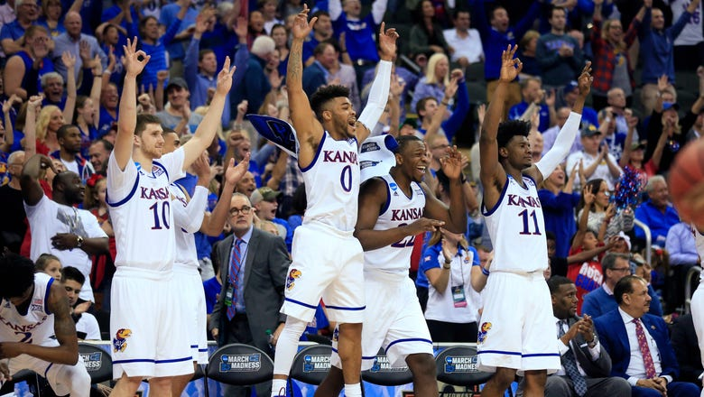 Kansas moves on, beats Purdue 98-66 in second-half blowout