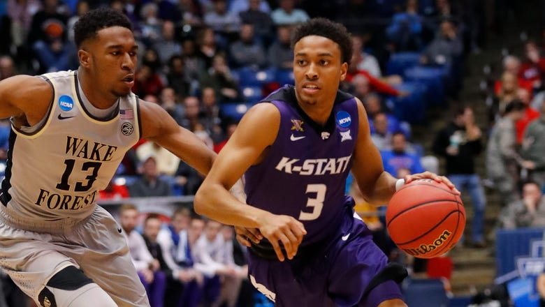 K-State downs Wake Forest 95-88, moves on to play Cincy on Friday