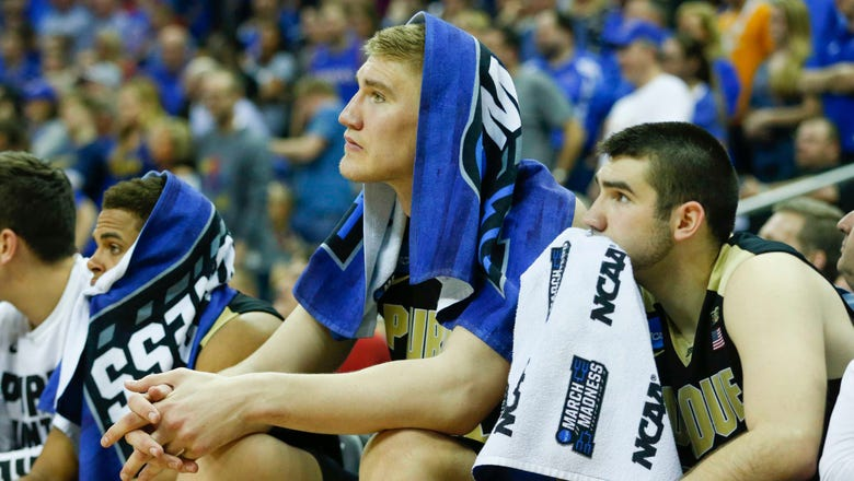 Purdue bounced from tournament in 98-66 loss to Kansas