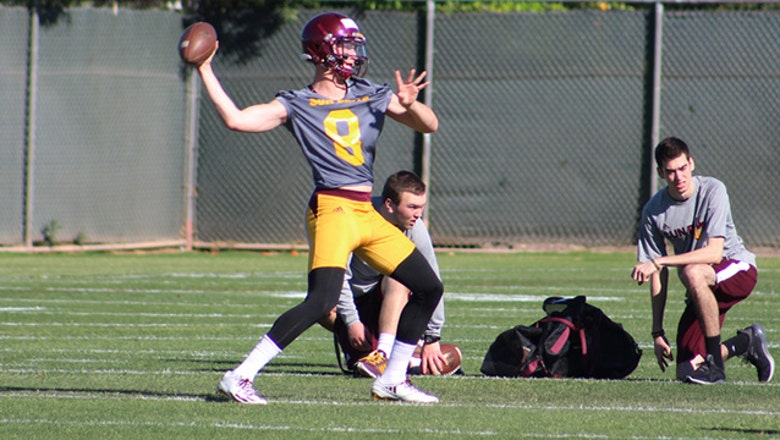 ASU football gets fresh start as spring practice opens