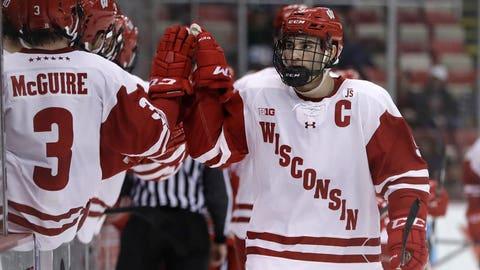 Wisconsin Hockey in Big Ten Championship game