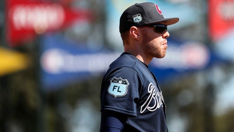 Freddie Freeman's fast start highlights Braves' early spring performers