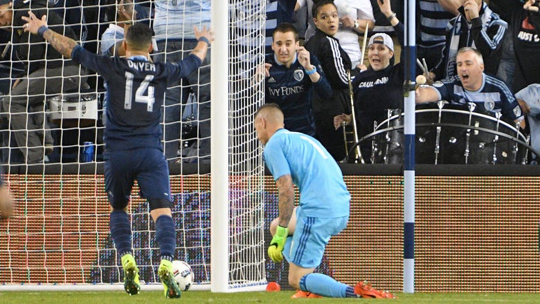 Sporting KC earns 2-1 win off San Jose's costly mistake