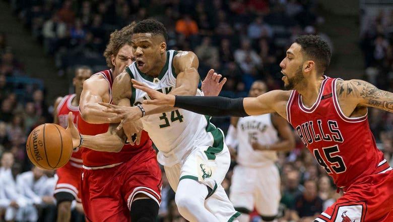Bucks fall short of season sweep against Bulls