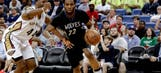 Timberwolves get out to quick start but fall to Pelicans