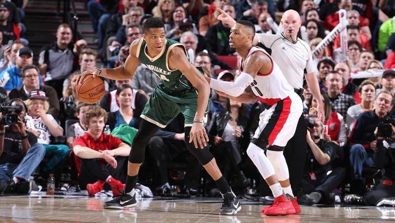 Bucks fend off Trail Blazers, move back to 7th place