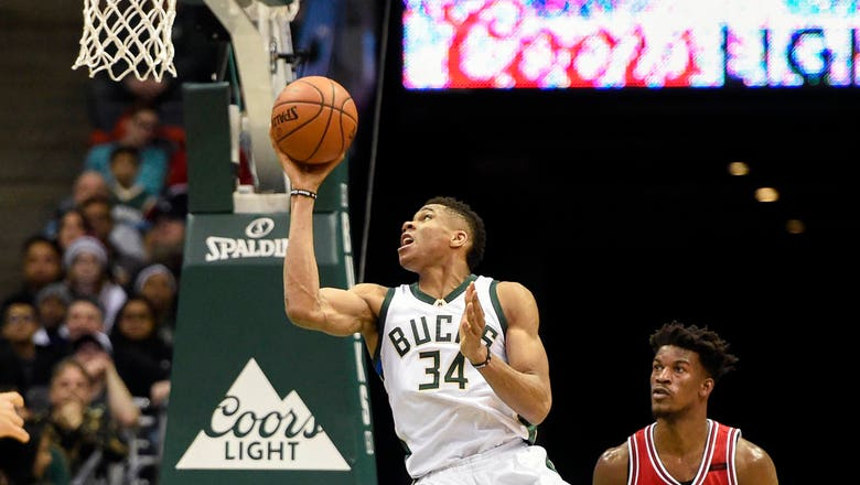 Bucks-Bulls Twi-lights: Giannis scores 22 points in loss
