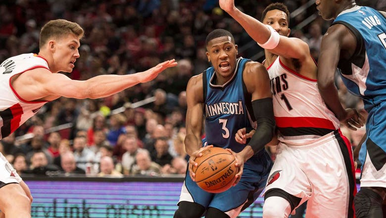 Timberwolves-Trail Blazers Twi-lights: Dunn scores career-high 17 points in loss