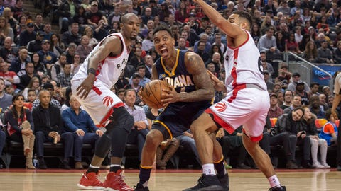 Raptors still own Pacers in Toronto
