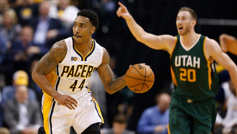 Teague, Pacers grind out 107-100 win over Jazz