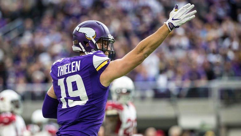Midweek Stock Report: Adam Thielen gets paid