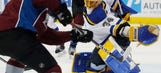 Blues look to keep climbing standings against Avs