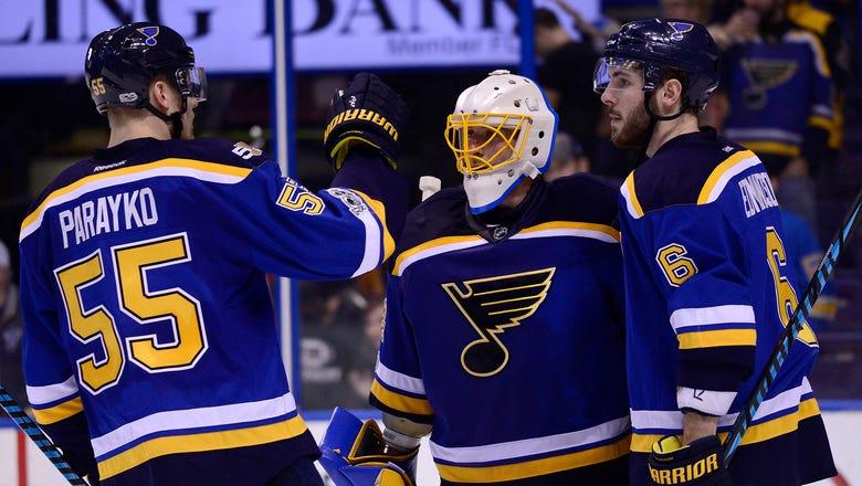 Blues stay hot at home, earn 4-1 win over Canucks