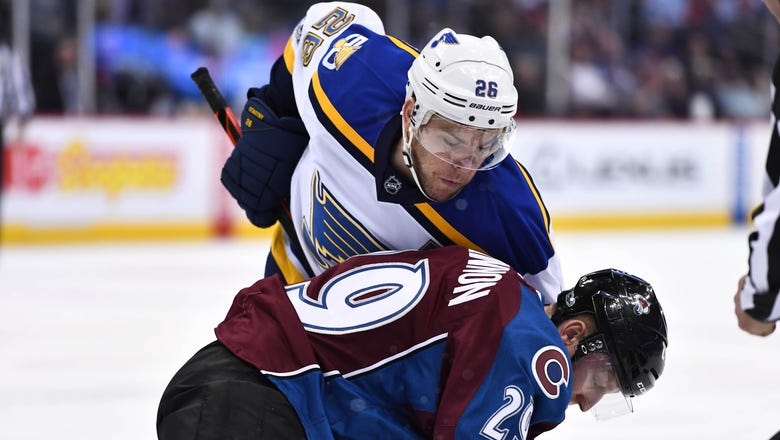 Stastny listed week-to-week with injury after leaving Blues game