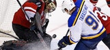 Sans Doan, Coyotes fall behind early and cannot recover in shutout