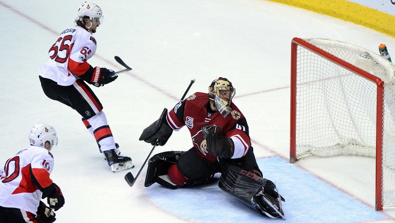 Coyotes can't hold off Senators' rally, suffer OT loss