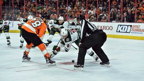 Wild Look Flat, Fall To Flyers 3-1