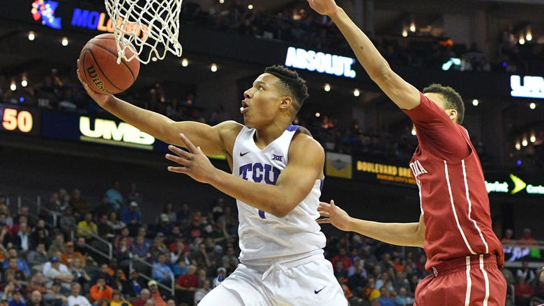 TCU routs Oklahoma 82-63 in opening round of Big 12 tourney