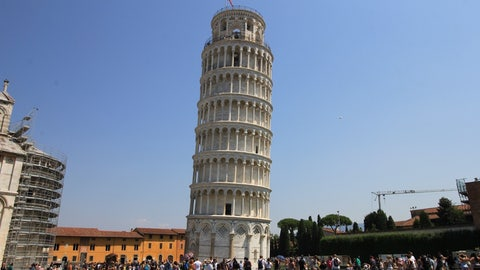 The Leaning Tower of Pisa was closed to the public