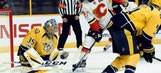 Predators LIVE to GO: Preds gain ground in standings, beat Flames 3-1