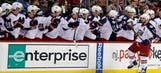 Blue Jackets score 2 on penalty shots, clinch playoff spot