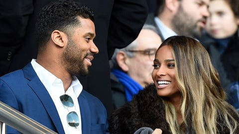 Russell Wilson, former Badgers and current Seahawks quarterback