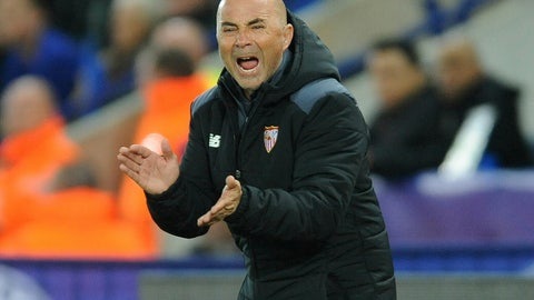 Jorge Sampaoli pulled out the stops in the second half