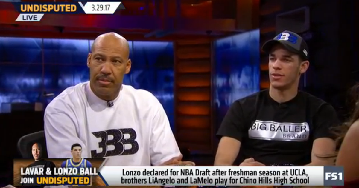 Undisputed: Lonzo Ball says he isn't worried about being targeted by NBA players | FOX Sports