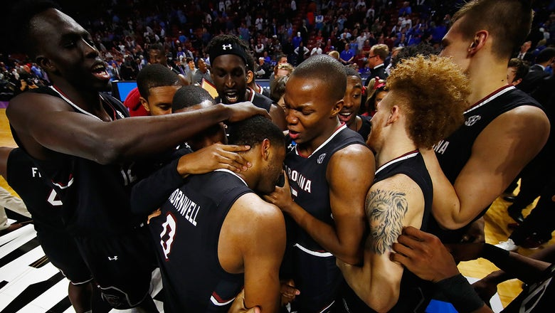 Frank Martin and South Carolina's surprising Cinderella story written by senior trio