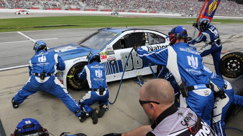 What was the deal with your tire issue at Kansas?