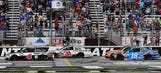 Top-10 finishing order after Stage 2 at Atlanta Motor Speedway