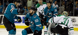 Pavelski's 2 goals lead Sharks past Stars 5-1