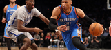 Westbrook has 33rd triple-double, Thunder beat Nets