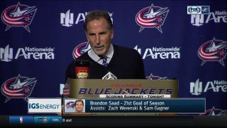 Torts explains where things went awry for Blue Jackets vs. Toronto