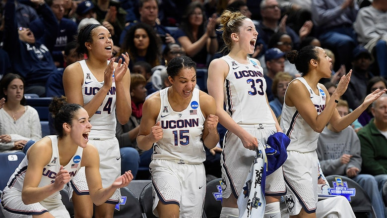 Women's NCAA tournament first round day two capsules: UConn dominates