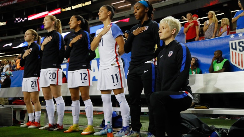 Megan Rapinoe will 'respect' new U.S. Soccer rule requiring players stand during anthem