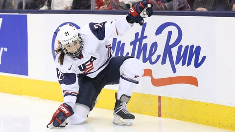 U.S.  women's hockey team threatens to skip world championship in MI