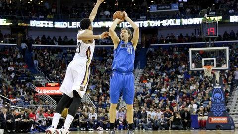 Dallas Mavericks: 3/29, @ New Orleans Pelicans