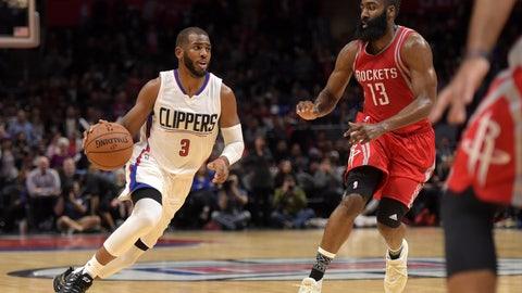 Los Angeles Clippers: 4/10, vs. Houston Rockets