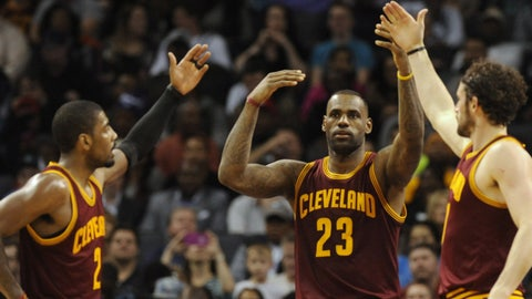 LeBron: Coach's job is to compete for a championship, not a game